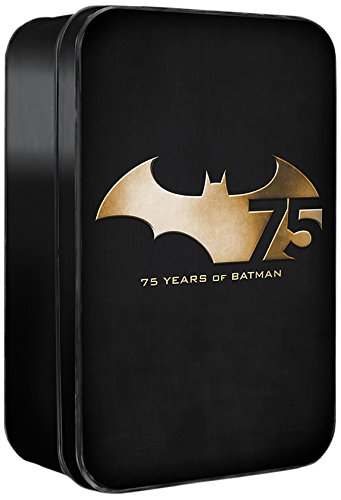 DC Collectibles Batman 75th Anniversary Action Figure , 4-Pa