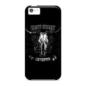 CzS14749TBru Wall Creek Saloon Awesome High Quality Iphone 5c Cases Skin