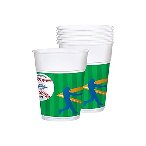 """MLB Collection"" Plastic Party Cups"