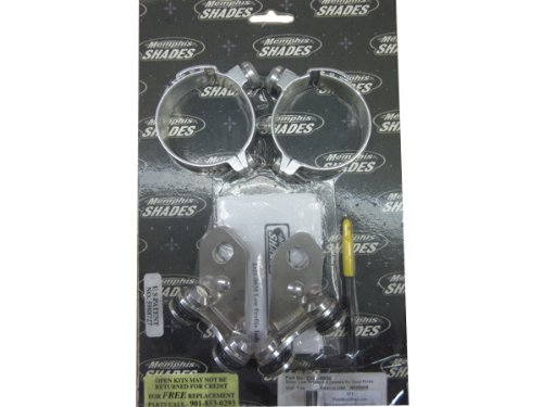 06-10 KAWASAKI VN900B: Memphis Shades Lowers Mounting Kit Hardware (Fats And Slim Windshields)