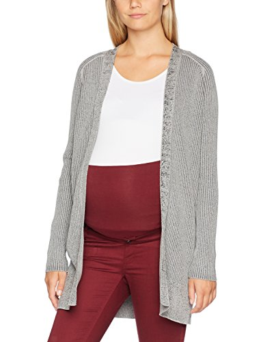 Medium Premaman Cardigan Grigio C240 Grey Donna Supermom SqfI5xwq