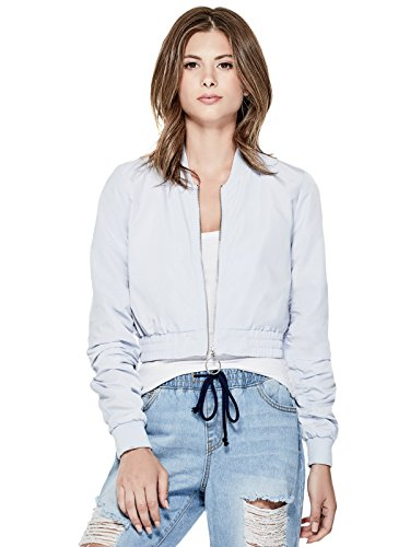 GUESS Factory Women's Balie Cropped Bomber (Cropped Bomber)