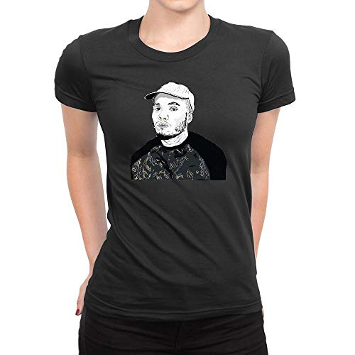 GOOD COME FROM Women's Anderson Paak Art 1 Short Sleeve T Shirt