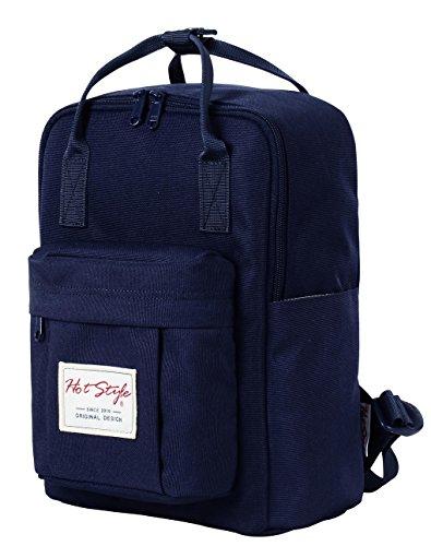 HotStyle Bestie Mochila mujer 14L - Bolsa para pañales impermeable - Verde D141A, Azul marino