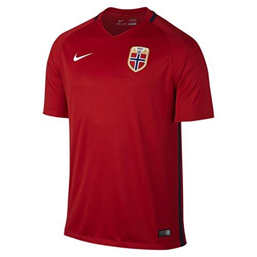 トライアスロン閲覧するまだNIKE NORWAY HOME JERSEY 2016(RED)/サッカーユニフォーム ノルウェー ホーム用 2016