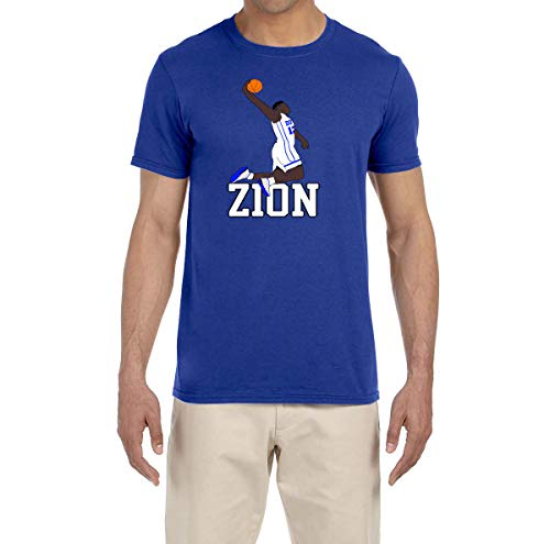 Tobin Clothing Blue Duke Zion Dunking T-Shirt Youth Medium