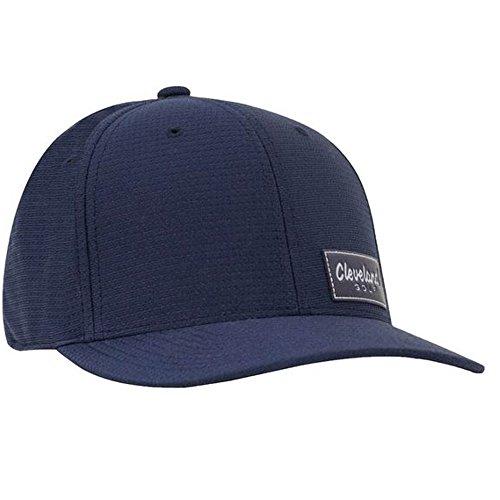(Cleveland Golf NEW CG Tech Patch Cap Adjustable - Navy)