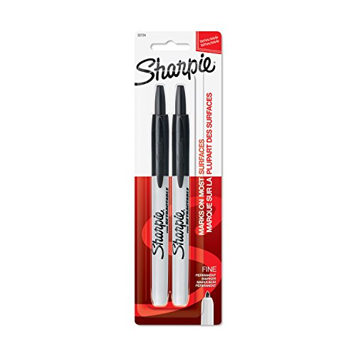 Best sharpie ultra fine point black retractable