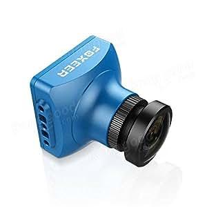 FOXEER Arrow V3 2.5mm 600TVL HAD II CCD NTSC IR Block FPV Camera Built-in OSD MIC - Blue