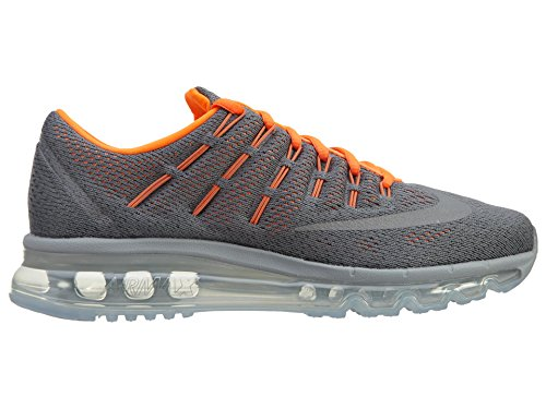 Nike Cl Gry / Rflct Slvr-Ttl Orng-Blc, Zapatillas de Deporte para Niños Gris (Cl Gry / Rflct Slvr-Ttl Orng-Blc)