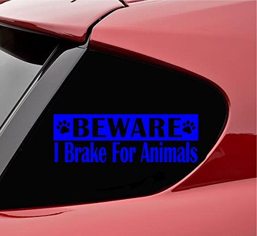 柔らかい Beware Break I Beware I Break for動物ビニールデカールステッカー(ブルー) B0798TDCJ5, VECTOR×Refine:b3b40965 --- a0267596.xsph.ru