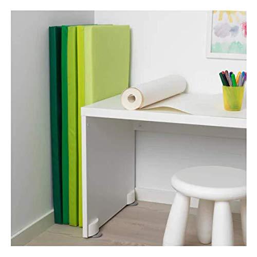 Esterilla de gimnasia Ikea plufsig plegable, verde, 78 x 185 cm