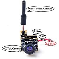 AKK BS2 5.8G 48CH 25mW VTX 600TVL 1/3 Cmos AIO FPV Camera for FPV Drone Like Tiny Whoop Blade Inductrix etc