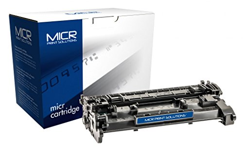Recreated Cartridges HP CF226A(M) | Black OEM MICR Cartridge 3,100 Pages for MICR Toner Cartridge for HP LaserJet Pro MFP M426 and M402 printers