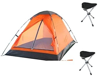 4 PERSON FESTIVAL DOME CAMPING TENTS QUICK PITCH TENT WEEKEND HOLIDAY CAMPING TENTS WITH 2 TRIPOD  sc 1 st  Amazon UK & 4 PERSON FESTIVAL DOME CAMPING TENTS QUICK PITCH TENT WEEKEND ...