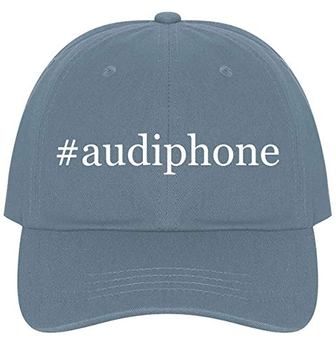 The Town Butler #Audiphone - A Nice Comfortable Adjustable Hashtag Dad Hat Cap, Light Blue, One Size