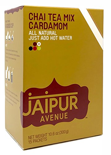 Jaipur Avenue Chai Tea Mix Cardamom (15-Count Box)