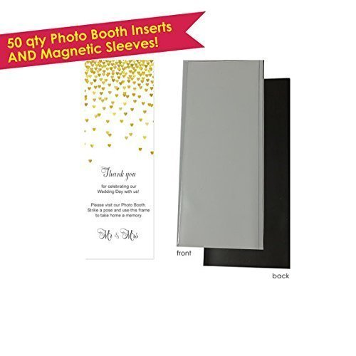 Amazoncom 50 Photo Booth Frame And Inserts Photo Booth Frames