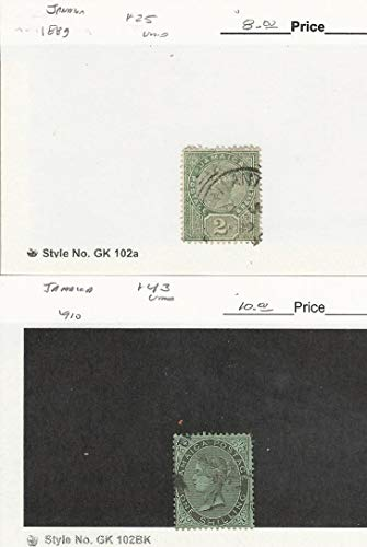 Jamaica, Postage Stamp, 25, 43 Used, 1889-1910, JFZ ()