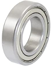 uxcell® 20 x 37 x 9mm 6904 Shielded Miniature Deep Groove Radial Ball Bearing
