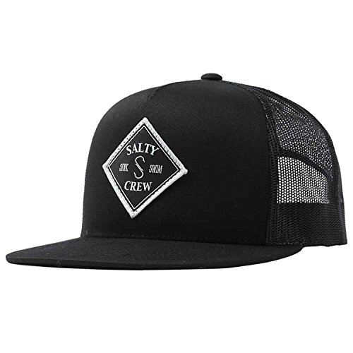 Salty Crew Men's Tippet Trucker Hat, Black, One Size