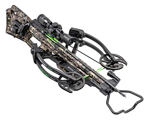 HORTON CROSSBOW INNOVATIONS Vortec RDX Package with Pro-View 2 Scope, Quiver, Arrows and Acudraw 50 Sled (Renewed) ()