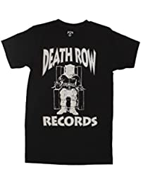 Death Row Records White Logo Adult T-Shirt