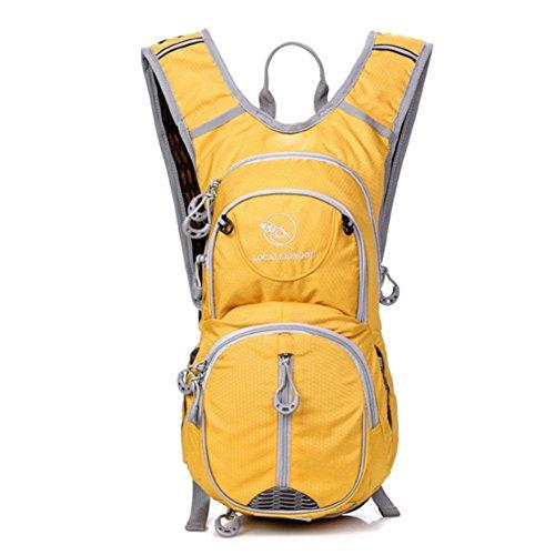 morral al aire libre/Mochila ciclismo/bolso femenino/casco Mochila/Deportes pequeña mochila/bolsa de Casual Male/bolso del alpinismo-D H