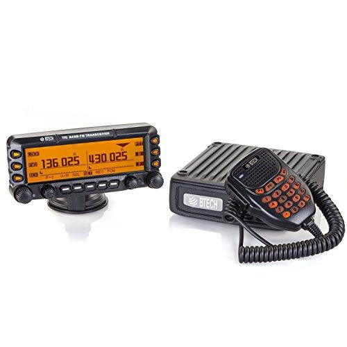 Vhf Repeater Antenna - BTECH MOBILE UV-50X3 50 Watt Tri-Band Radio: 136-174mhz (VHF), 222-225mhz (1.25M), 400-520mhz (UHF) Amateur (Ham)