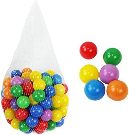 Monsieur Bébé ® – Lote de 200 pelotas de juego o de piscina ...