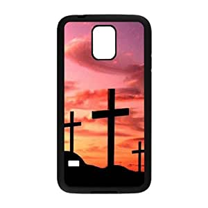 Cross The Unique Printing Art Custom Phone Case for SamSung Galaxy S5 I9600,diy cover case ygtg548219
