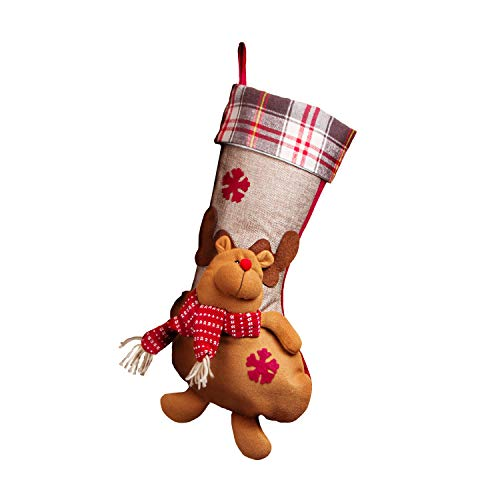 (MOO&NOO 3D Christmas Stockings Big Size Classic Stockings 17