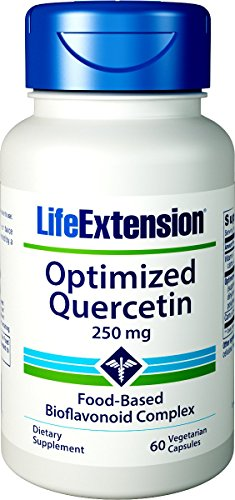 Life Extension Optimized Quercetin 250 Mg, 60 Vegetarian Capsules