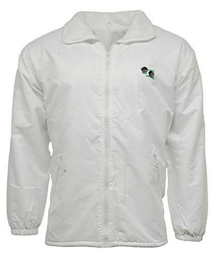 3XL Unisex To Fit Lawn Bowls Bowlswear Bowling Bowls Waterproof /& Windproof Mesh Lined Jacket With Bowls Logo With Detachable Hood