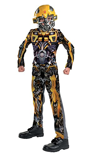 Bumblebee Movie Classic Child Costume - Large (10-12) (Toddler Bumblebee Transformer Costume)