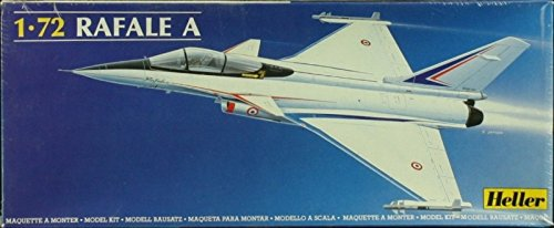 Heller 1:72 Rafale A Plastic Aircraft Model Kit #80357