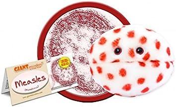 Giantmicrobes - Peluche Microbio gigante - Versión llavero Key Ring Sarampión (Measles): Amazon.es: Juguetes y juegos