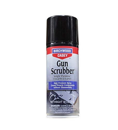 Birchwood Casey Gun Scrubber Synthetic Safe Cleaner, Aerosol Spray, 10 oz.