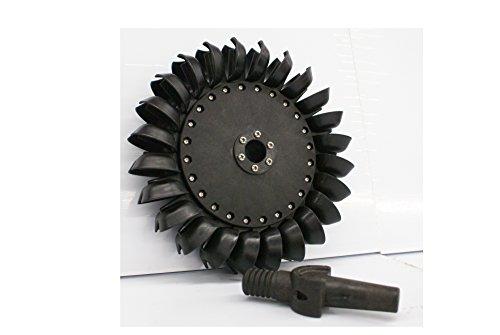 Pelton Water Wheel Turbine 10.625