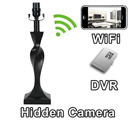 Amazon.com : PalmVID WiFi Lamp Hidden Camera Spy Camera with ...