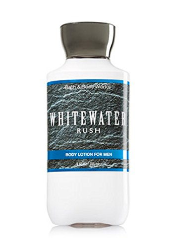 Aromatic Body Care Water - Bath and Body Works Mens Body Lotion Whitewater Rush 8 Ounce Retired Fragrance Full Size