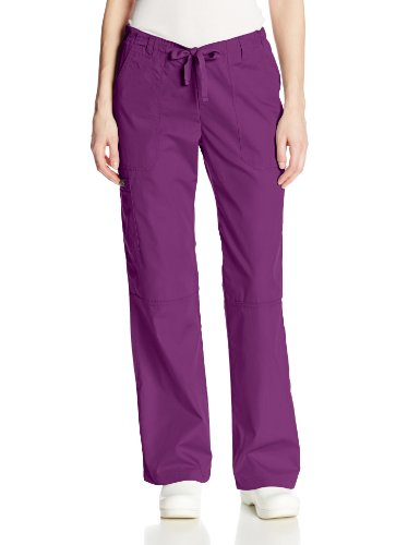 Cherokee Women's Ww Low-Rise Drawstring Cargo Pant