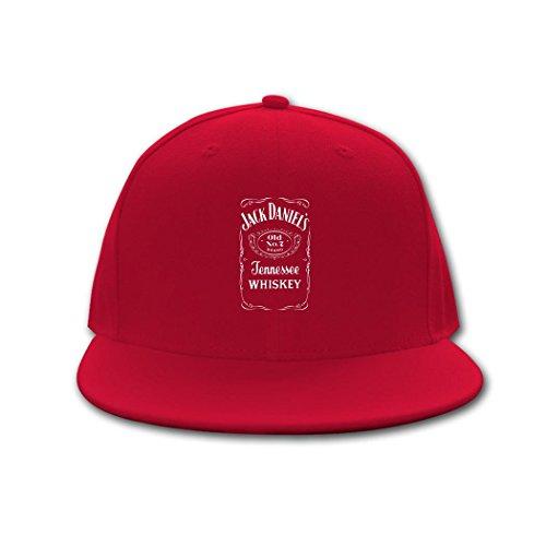 Delli Baseball Cap Jack Daniels Tennessee Whiskey Logo Hip Hop Cap (Jack Daniels Tennessee Sour Mash Whiskey With Honey)