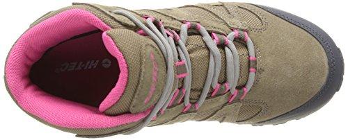 Hi-Tec Alto Mid Wp, Damen Trekking- & Wanderstiefel Trekking- & Wanderschuhe Beige (Dune/Pink)