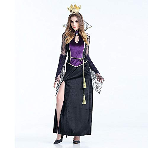 Adult Womens Sexy Vampire Witch Dress Halloween Cosplay Party Costume