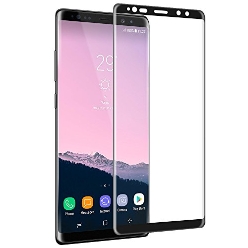 Screen Protector for Samsung Galaxy Note 8 Olycism Full Coverage Perfect Fit [2.5D Curved Edge, Ultra HD Clear, Anti-Scratch, Bubble Free] Premium Tempered Glass Screen Protector