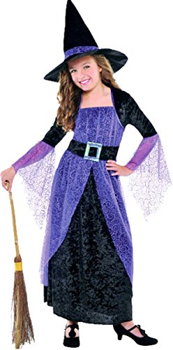 Small Children's Pretty Potion Witch (Halloween Costumes 3-4 Years Uk)