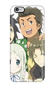 Iphone 6 Plus Case Cover - Slim Fit Tpu Protector Shock Absorbent Case (anohana)