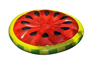 Swimline Watermelon Slice Island Inflatable Raft
