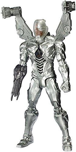 "DC Justice League Tech Blast Cyborg Figure, 12"""